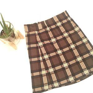 41 Hawthorn Soft Plaid Skirt ~stitch fix classic~